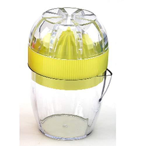 QWER Manuelle Zitronenpresse Citrus Orange Juicer BPA-frei Spülmaschinenfest für Zuhause,Green (Green Citrus Juicer)