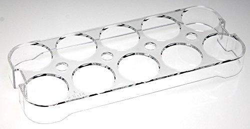 Universal-Eierhalter 2252 für Kühlschrank, Kühl-/Gefrierkombination, Einbaukühlschrank, Für bis zu 10 Eier, Maße (HxBxT): 2,5cm. x 23,5cm. x 9,5cm (Maße prüfen!)