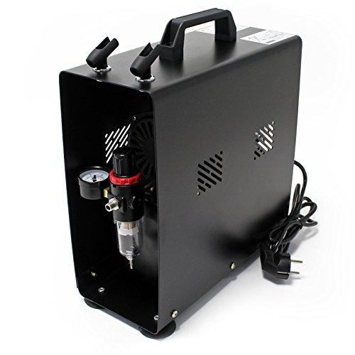 WilTec Compresseur Aérographe AF189A réservoir régulateur séparateur d'eau Pressure Reducer