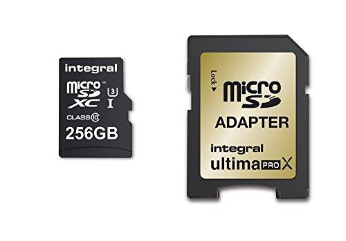 Integral UltimaPro X con 256GB microSDXC Clase 10tarjeta de memoria