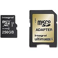 Integral UltimaPro X 256GB microSDXC Highspeed Class 10Speicherkarte