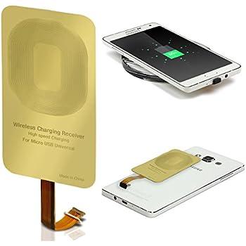 Urcover® Qi Récepteur de Chargement pour Smartphone/Telephone Micro USB | Receiver Charge sans