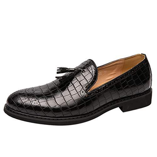 Mocassini Uomo Pelle Estivi Pantofole Casual Eleganti Slip On Scarpe da Guida Scarpe da Barca Classic Loafers Scarpe Basse Scarpe Pelle