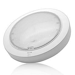 Luci interne–Maso 12V 9W luce LED plafoniera per roulotte/camper/roulotte/barca Surface Mount Warm spot Light
