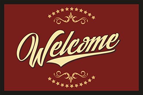 RAHMENLOS® - Zerbino 40 x 60 cm Slide to unlock Benvenuti