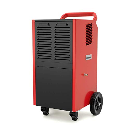 41Cb4nvEZhL. SS500  - Dsnmm 60 Pint CD035T Mobile Dehumidifier with Water Tank and Drain-hose for Commercial,Basements,Home