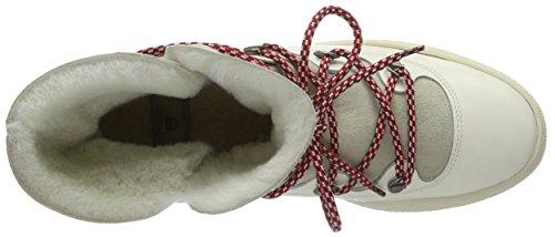 Gant Maria, Bottes courtes avec doublure chaude femme Blanc - Weiß (Bone beige G15)