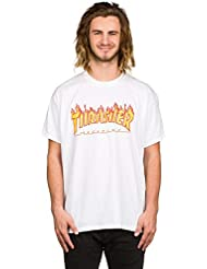 Thrasher - T-shirt Mc Flame Homme - Taille:one Size
