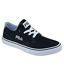 Fila Farli Walk Plus 4 Casual Shoes (8 UK, Black)