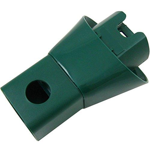 McFilter Elektro-Adapter | Oval auf Wappen | mit Stromdurchführung | geeignet für Vorwerk Kobold 130, 131, 135, 136, 140, 150 und Tiger 251, 252, 260, 265, 270 -
