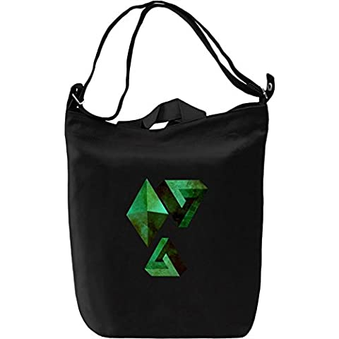 Minifinity Bolsa de mano Día Canvas Day Bag| 100% Premium Cotton Canvas| DTG Printing|