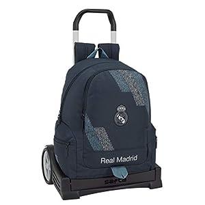 41Cb7Yvd9kL. SS300  - Safta 072413 Real Madrid 2 Mochila Tipo Casual 43 cm, 1 litro, Azul