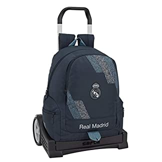 41Cb7Yvd9kL. SS324  - Safta- Mochila con Carro Evolution Real Madrid, Color Azul, 43 cm (611834860)