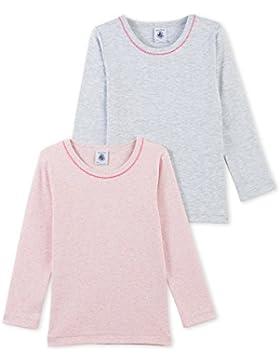 PETIT BATEAU Lots Couleurs Niña, Camiseta de Manga Larga para Niñas