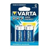 Varta 4914 High Energy C/Baby Batterie 10x 2-Pack, 7800mAh (10er Set)