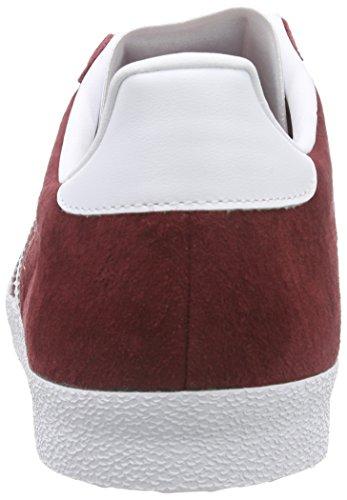 adidas Gazelle Og, Baskets Basses Homme Rouge (Collegiate Burgundy/Ftwr White/Collegiate Burgundy)