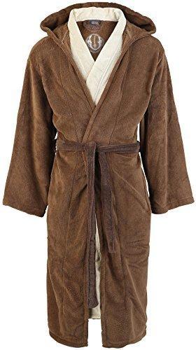 Accappatoio di Maestro Jedi tratto da Star Wars - In pile - Marrone