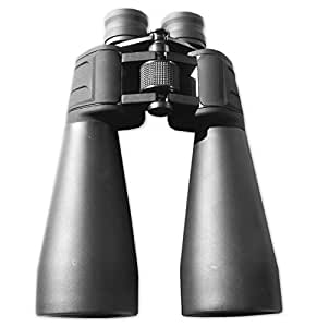 MagniVisionPro® 15x70 High Quality Astronomy Observation Binoculars - BaK4 Prisms - Great Clarity - Recommended for StarGazing - Very Powerful - With Tripod Adapter, Case, Lens Caps, Cleaning Cloth and Strap (15x70)