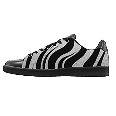 Dalliy zebra stripe Men's Canvas shoes Schuhe Lace-up High-top Sneakers Segeltuchschuhe Leinwand-Schuh-Turnschuhe