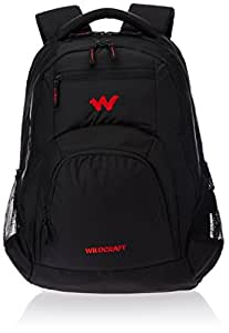 Wildcraft Polyester Black Laptop Bag (8903338054375)