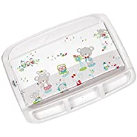 Brevi - Tabla cambiador con espacio para almacenar objetos multicolor