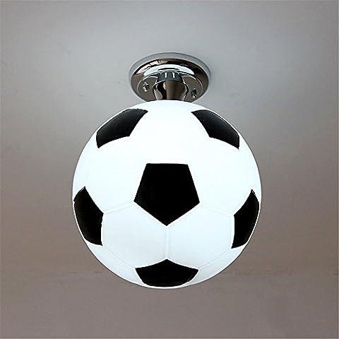 XUE Salle de jeux pour enfants football lampe enfants lampe plafond garçon salle chambre lumières éclairage du stade, 250 * 310mm