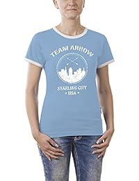 Touchlines Women's Team Arrow Kontrast T-Shirt