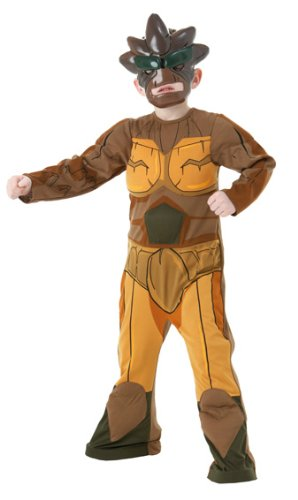 Erde Kostüm Kinder - Gormiti Kinder Kostüm Element Erde Größe L 8 bis 10 J.