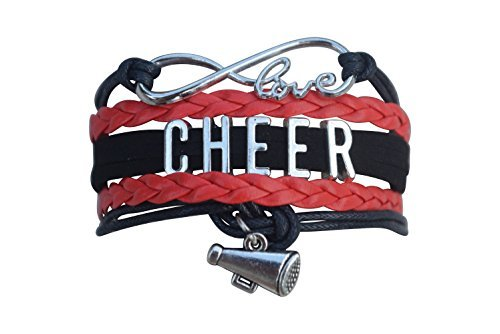 Cheer Bracelet- Girls Cheerleading Bracelet- Cheer Jewelry - Perfect Gift For Cheerleader by Infinity Collection