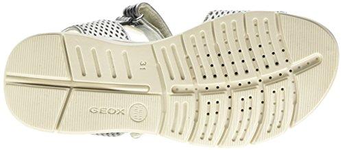 Geox - J620VD0AJACC1007 - Sandales À Bride À La Cheville Argent