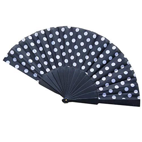 Sommer zusammenklappbar Wave Fan, mamum 8Farben faltbar, China Papier Fan Retro Hand Beute Fans Hochzeit Partyzubehör Einheitsgröße g