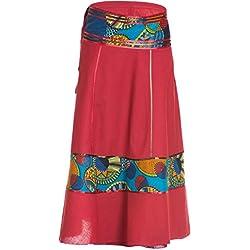 falda cruzada india unisex con tiras, aprox. 92 cms de largo, Estampado 7