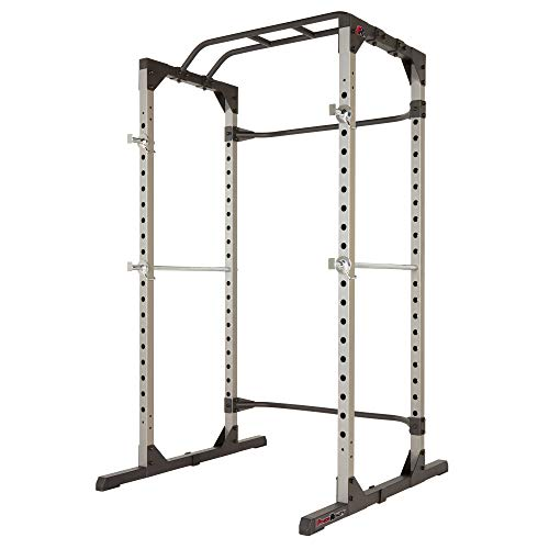 FITNESS REALITY 810XLT Super Max Power Cage, robuste Kraftstation mit 363kg maximaler Belastung