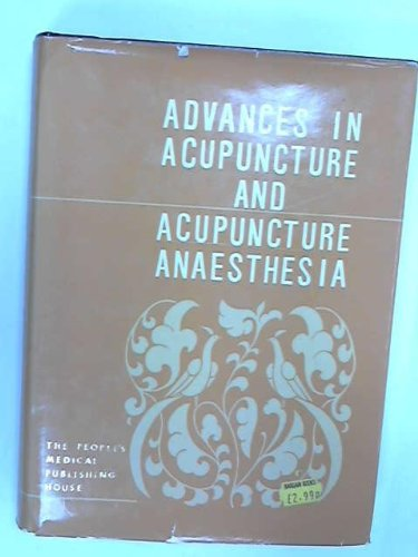 Advances in Acupuncture and Acupuncture ...