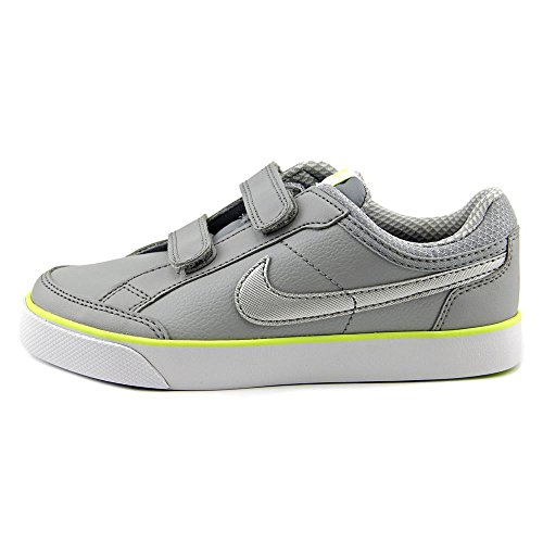 Nike - Capri 3 Ltr (Psv), Scarpe da ginnastica Bimbo 0-24 Grigio (Gris (Gris (Wolf Grey / Mtllc Slvr-White-Vlt)))