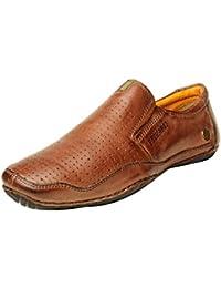 Buckaroo CLIFTON - Bordo Men's Leather Casual - 44 EU / 10 US Men