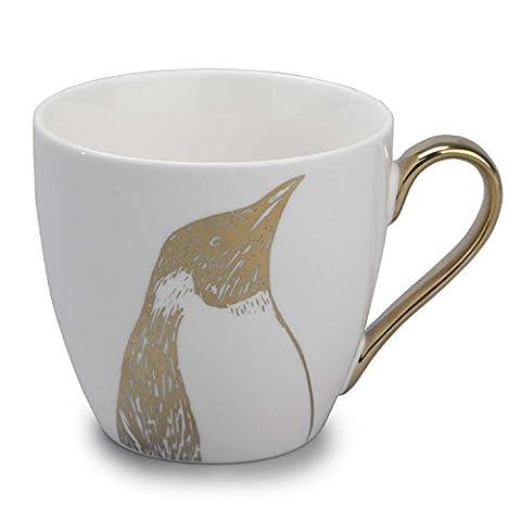 Cambridge Kendal or Fine, Tasse en Porcelaine anglaise, Pingouin