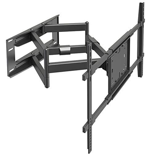 TV-Halterungen, TV-Wandhalterung für 50-80-Zoll-Fernseher, Full Motion-TV-Wandhalterung mit Gelenkarmen, max. VESA 800 x 500 mm und 90 kg