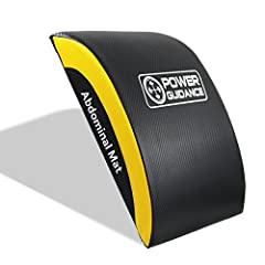 Idea Regalo - POWER GUIDANCE Addominale tappetini per Il Fitness - Addominali e Core Trainer Mat per Gamma Completa di Movimento Ab allenamenti