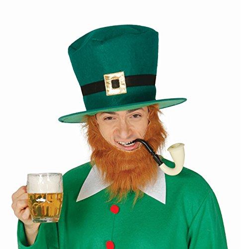 *** - ST. PATRICK DAY - ( Zylinder + Pfeife ), Irischer Feiertag Irland Kombinationen Kostümkombinationen Partyverkleidungen (Kostüme Von Irland)