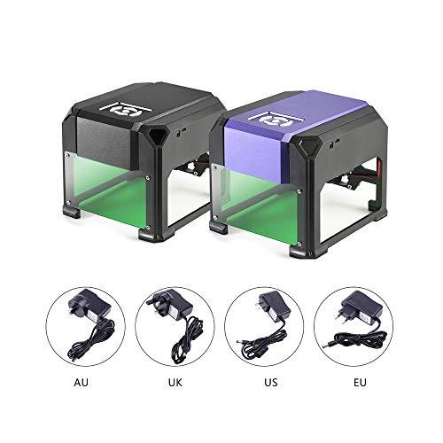 1500mW USB Desktop Laser Engraver Machine 80x 80mm Engraving Range DIY logo Mark Printer Cutter CNC Laser Carving Machine