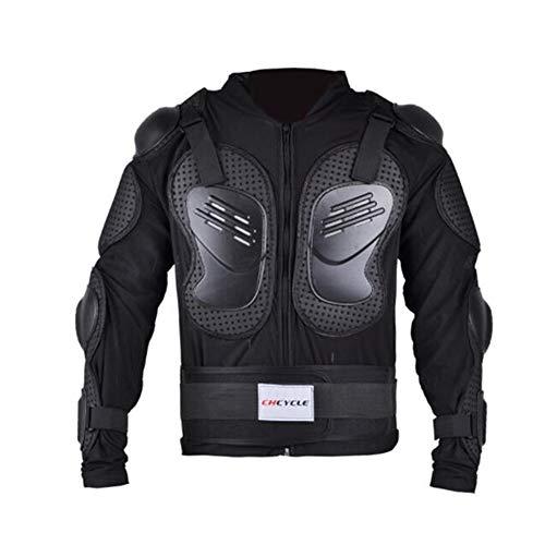 Aihifly Motorrad Vollkörper Rüstungsschutz Motorrad Rüstung Kleidung Elektroauto Reiten Schutz Wrestling Outdoor Motocross Reiten Rüstung Kleidung (Farbe : Schwarz, Größe : XL)