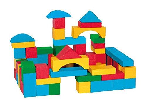 Woodyland Niño bloques de madera (75 piezas)