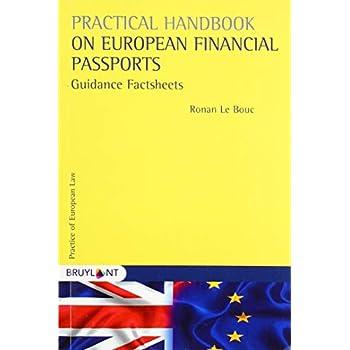 Practical Handbook on European Financial Passports: Guidance Factsheets