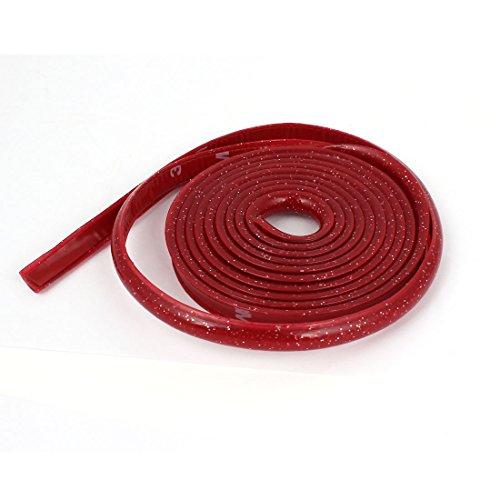 sourcingmapr-brillo-rojo-interior-flexible-cambio-pomo-forro-coche-moldura-forro-tira-2-metros