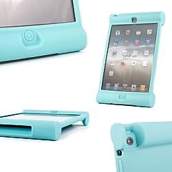 DURAGADGET vous présente cet étui arrière en mousse gomme de silicone pratique et résistant pour votre tablette Apple iPad 2, iPad 3 et iPad 4 .  Léger, il n'alourdira en rien votre tablette et est assez robuste pour la protéger des coups, des rayure...