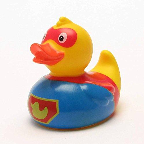 Duckshop I Superduck Badeente I Quietscheente I L: 9 cm