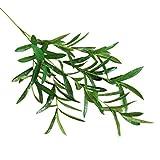 Künstliche Pflanzen, siconght 1pc Faux Fake Blätter Laub Gras Kunstpflanze Bush Hochzeit Party Home Garten Decor, grün, 97cm