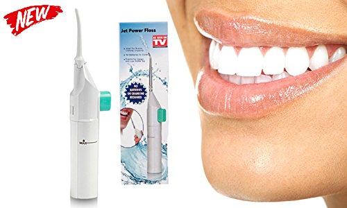 EuroQuality Power Floss - Munddusche & Zahn Munddusche mit Wasser (Ohne Batterie) & Oral Irrigator & zur Reinigung der Zahnzwischenräume
