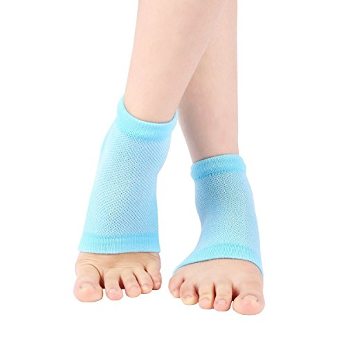 Purastep Silicone Gel Heel Socks For Dry Hard Cracked Heels...